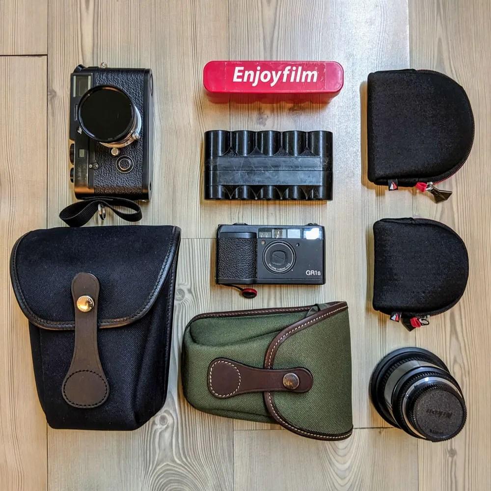 Billingham AVEA 7 and 8 end pockets plus kit