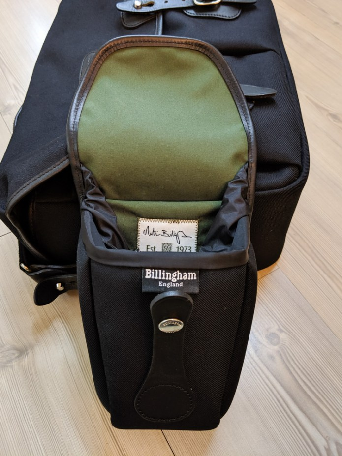 Billingham AVEA 8 end pocket (Open)