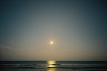 A shot from the XA2. That's not the sun, it's the moon. The XA2 wins in low-light situations.