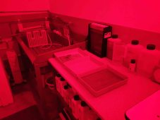 My darkroom - trays