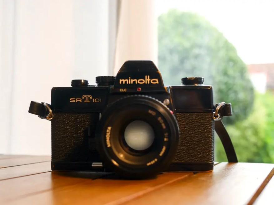 My Minolta SRT101