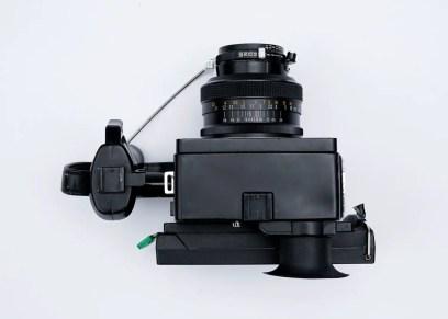 Top view Polaroid 600SE