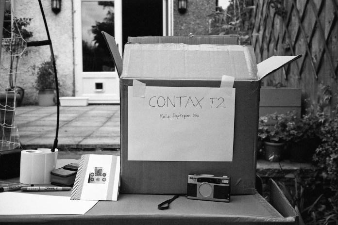 Contax T2 - Test shot