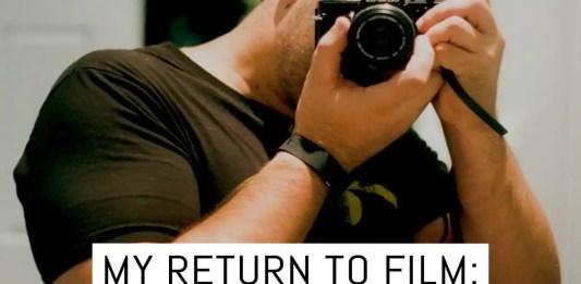 Cover: My return to film - Stuart Skene