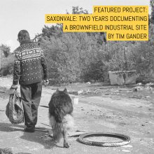 Saxonvale - two years documenting a brownfield industrial site - by Tim Gander