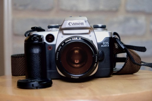 Dustin Cogsdell is shooting a Canon Elan 2, Canon 50mm f/1.8 lens and Ultrafine 400