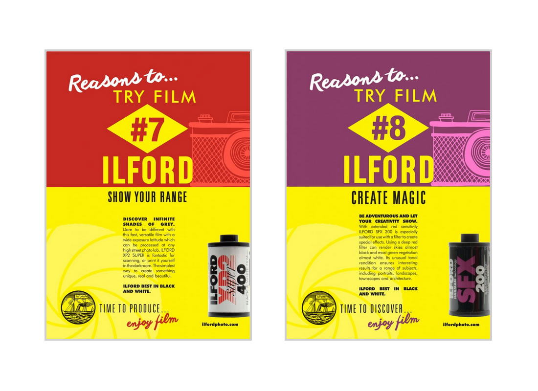 ILFORD Retro Posters 7&8