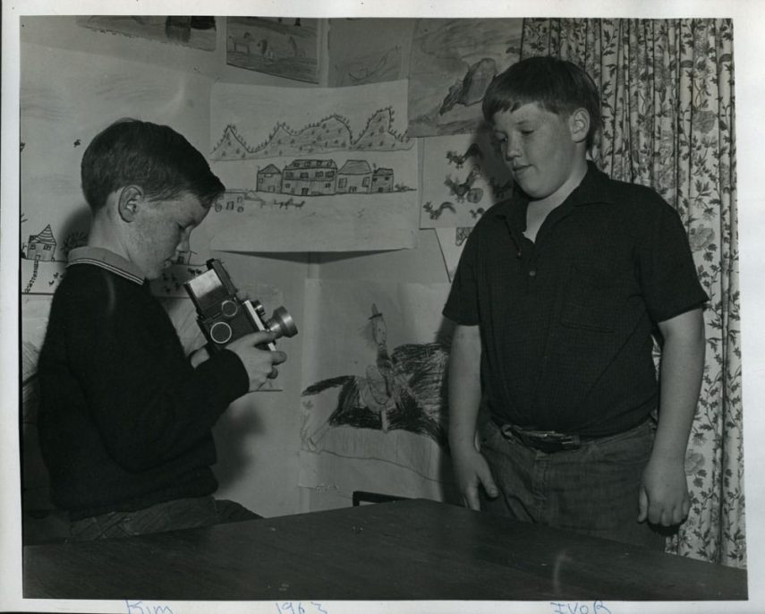 Young Kim Weston with camera