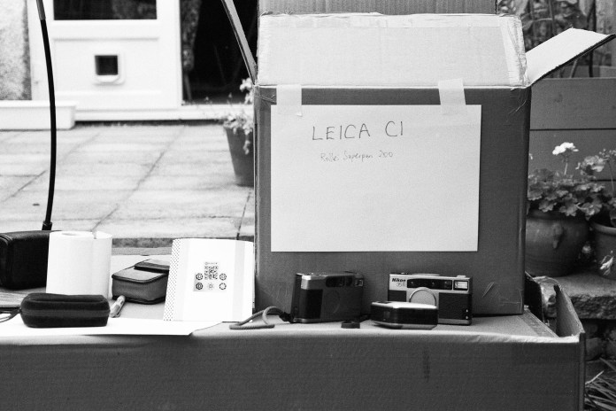 Leica C1 - Test shot. Not quite top notch maybe a slight missfocus.