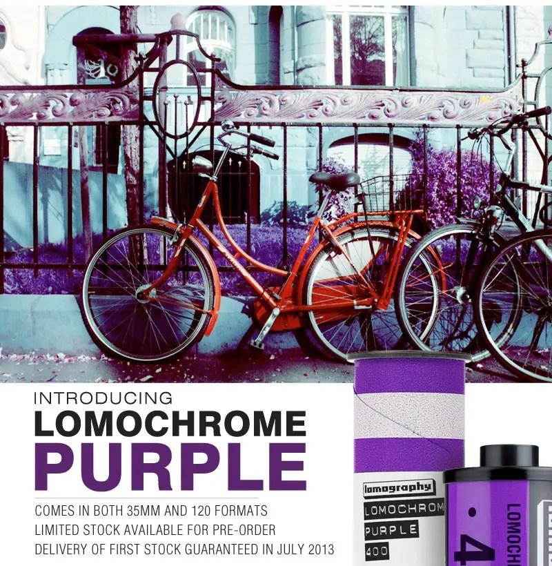 LomoChrome Purple Announcement 30 Jan 2013