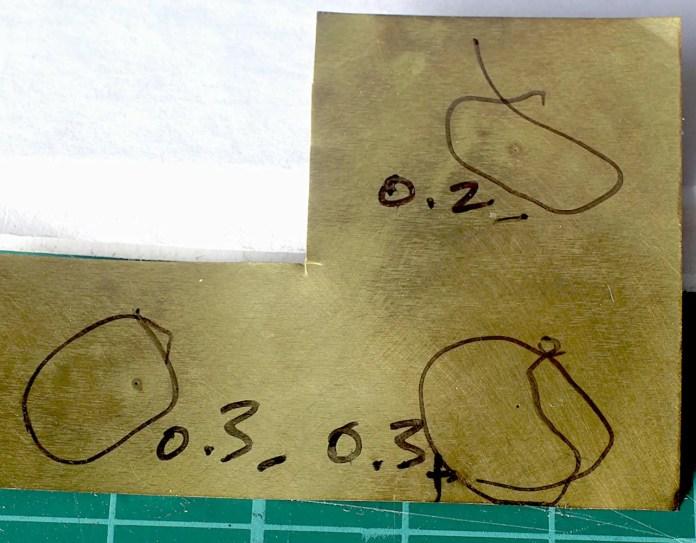Pinhole sheet