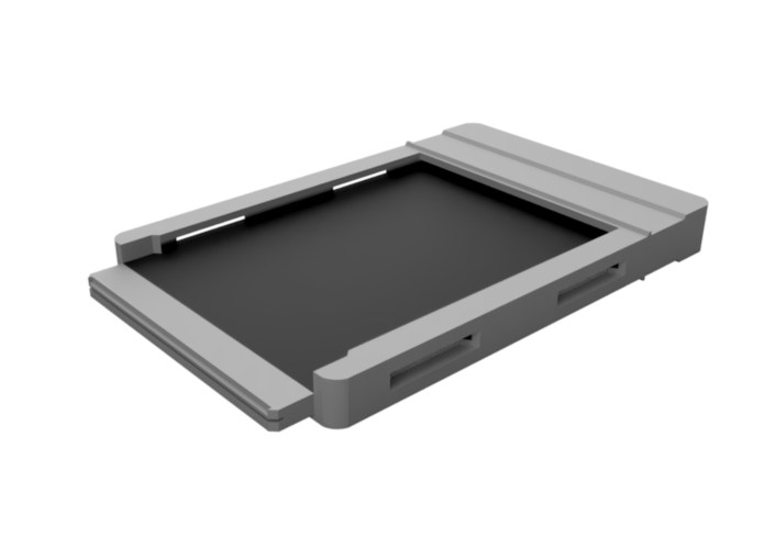 ChromaGraphica dry plate holder - concept render