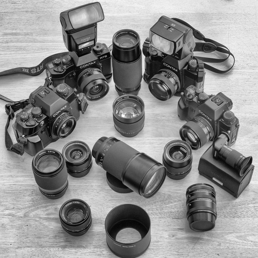 Contax Carl Zeiss CY mount lens family