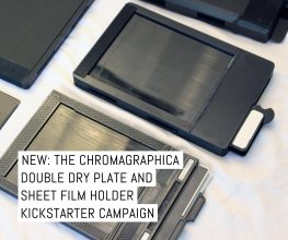 ChromaGraphica double dry plate and sheet film holder Kickstarter
