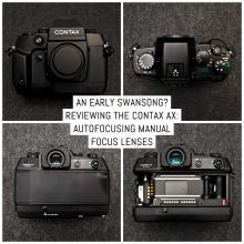 Reviewing the CONTAX AX: autofocusing manual focus lenses