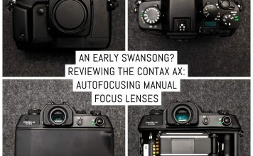 Reviewing the CONTAX AX: autofocusing manual focus lenses