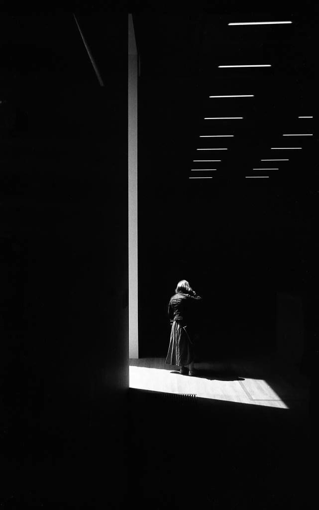 ILFORD Pan F Tate Modern, Leica Standard
