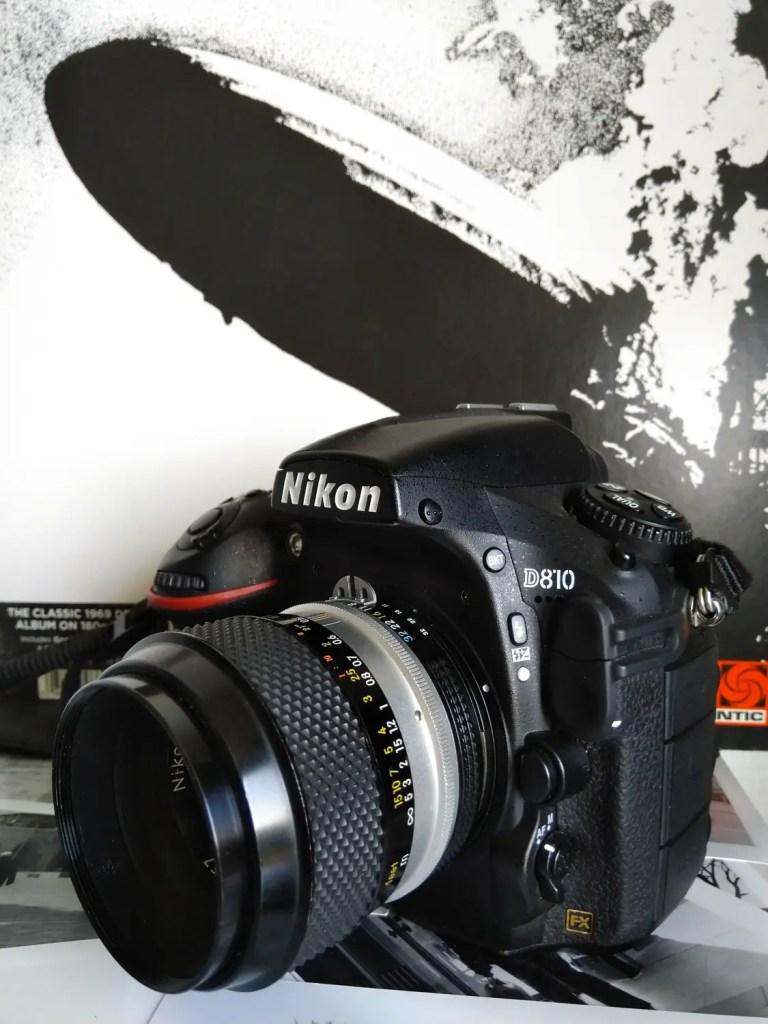 Nikon D800 and Nikon Nikkor 135mm f/2.8 AI