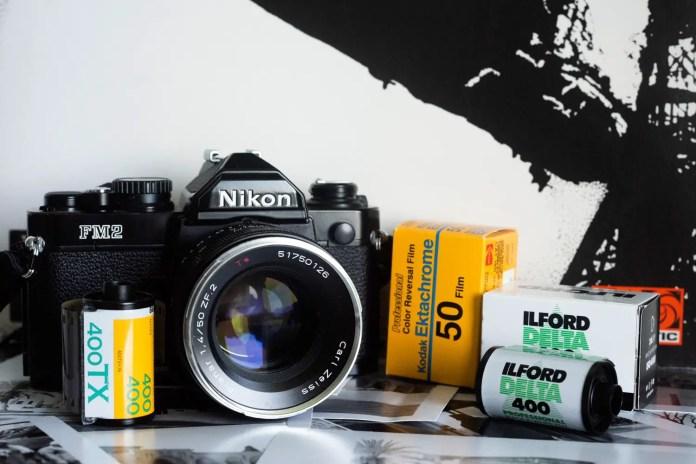 Nikon FM2, Zeiss Planar 50mm f/1.4 and film