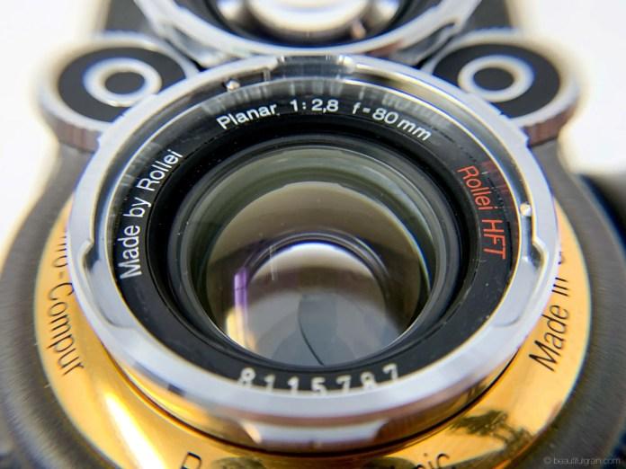 Rolleiflex 2.8GX Expression 75 Years Edition - Rollei HFT Planar 80mm f/2.8