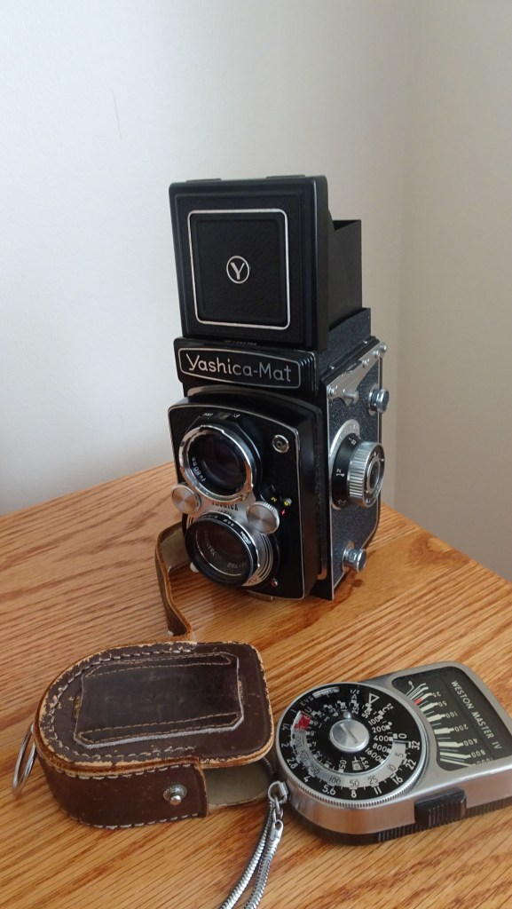 Yashica MAT and Weston Meter - Susan McNamara