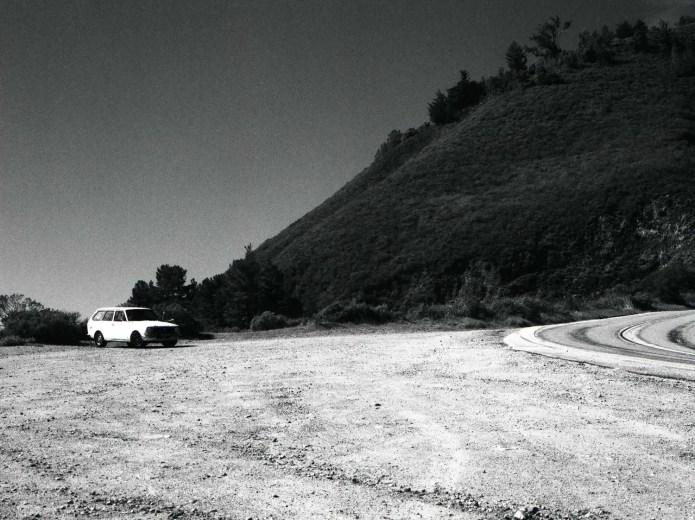 Pacific Coast Highway 1, California. Bronica ETRS, ILFORD SFX 200