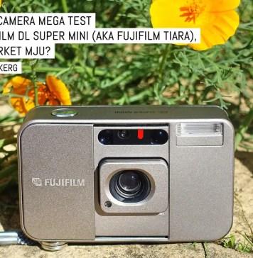 Compact camera mega test: The Fujifilm DL Super Mini (aka Fujifilm Tiara), the upmarket MJU