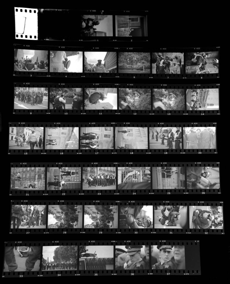 Contact sheet - Kentmere 400