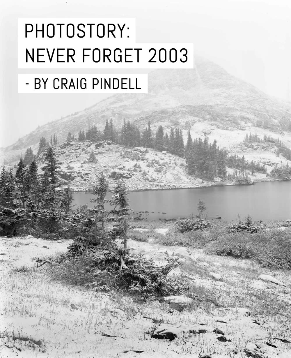Photostory: Never Forget 2003 – by Craig Pindell