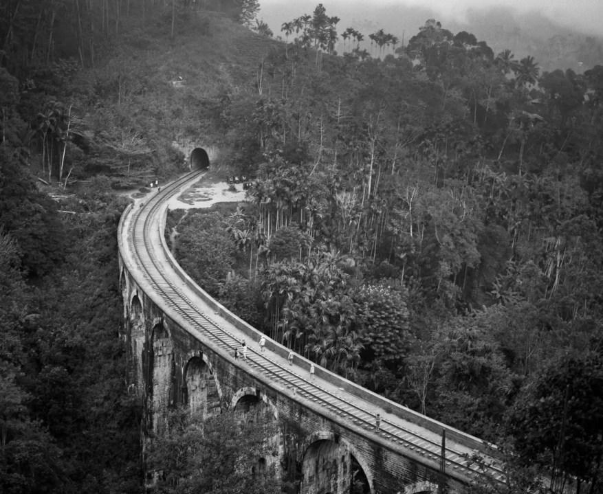 Nine Arch Bridge - ILFORD FP4 PLUS, Mamiya 7ii