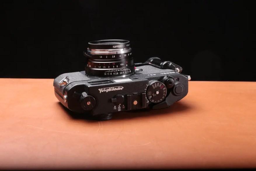 Voigtlander Bessa R3A with Voigtlander Nokton 50mm f/1.4