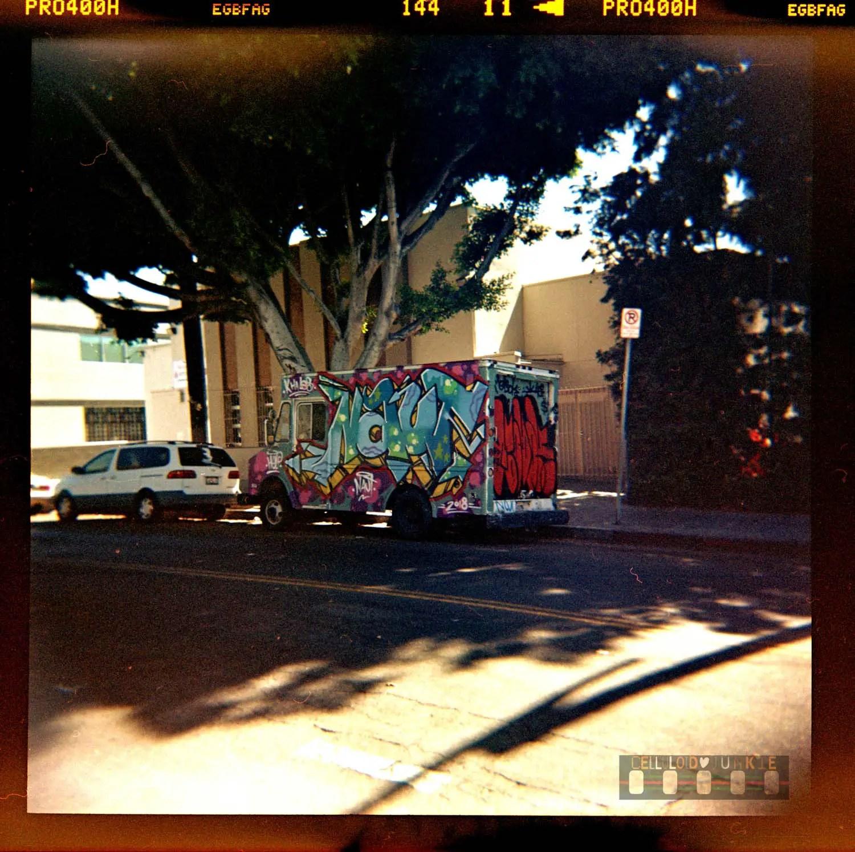 Pico Union Graffiti Truck