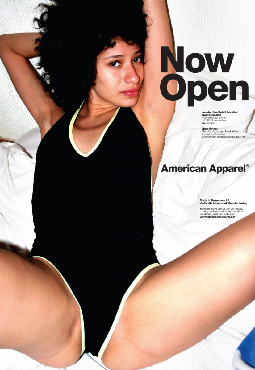 Terry Richardson for American Apparel