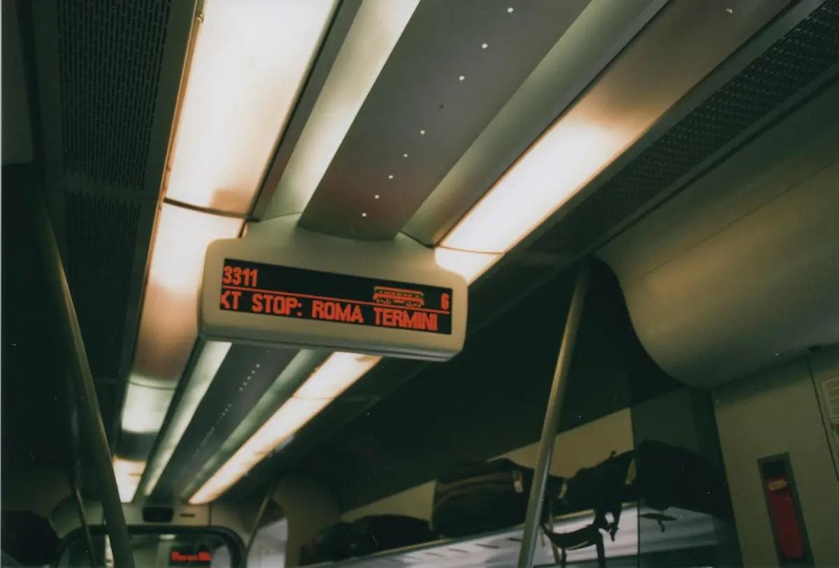 Train from Fiumicino