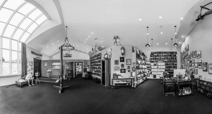 Studio panorama, credit Tom Wirtz