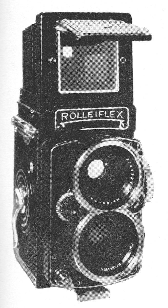 Wide-angle Rolleiflex