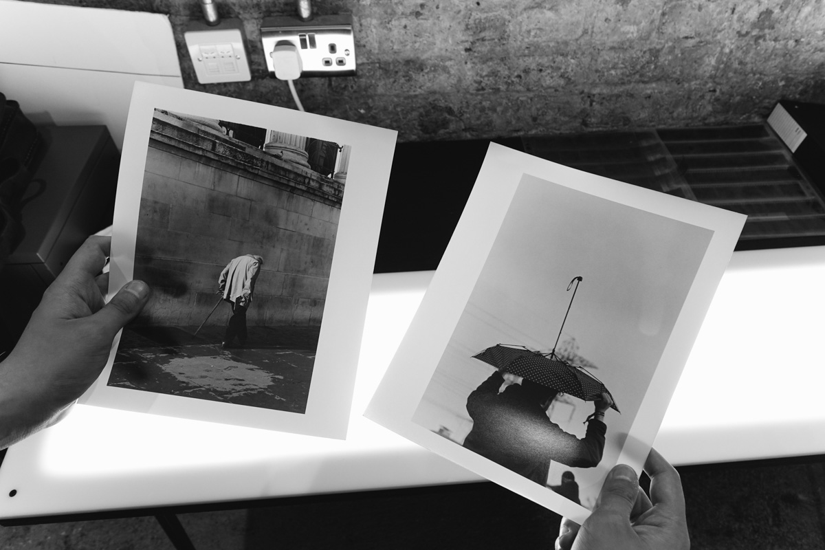 5 Frames With... ILFORD Multigrade IV RC Satin in the Darkroom - by Simon King