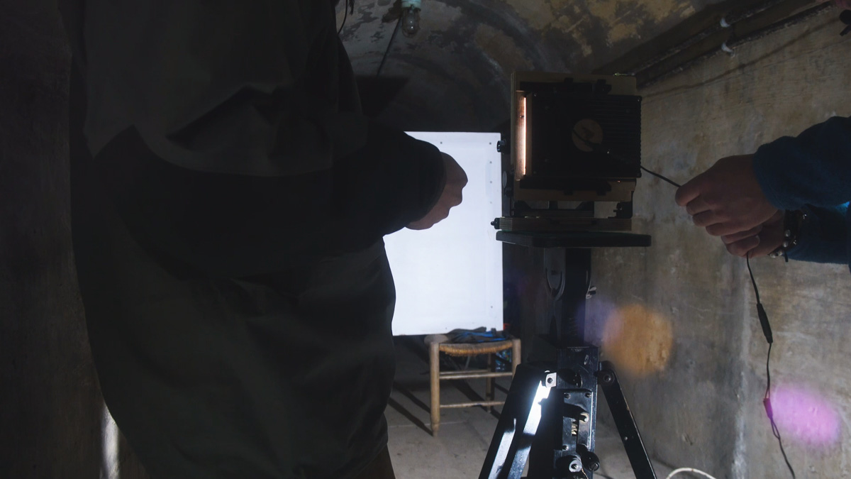 Inchindown - Using the Intrepid Enlarger