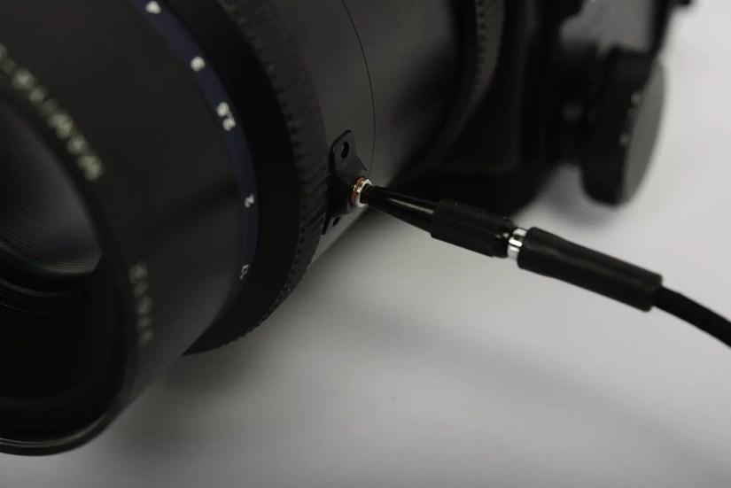 Mamiya RZ67 - mirror-side cable