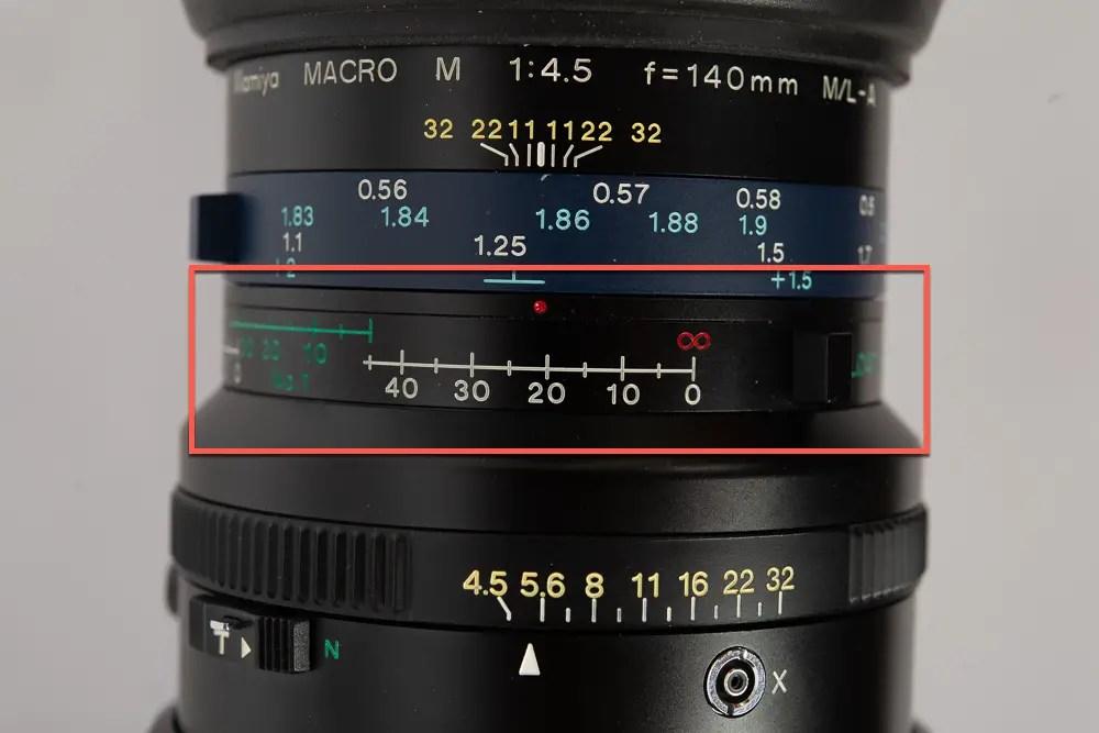 Mamiya RZ67 Pro lens FLE