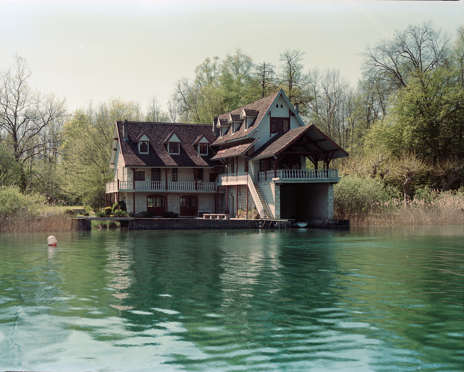 House on the Lac d'Aiguebelette (Savoie)