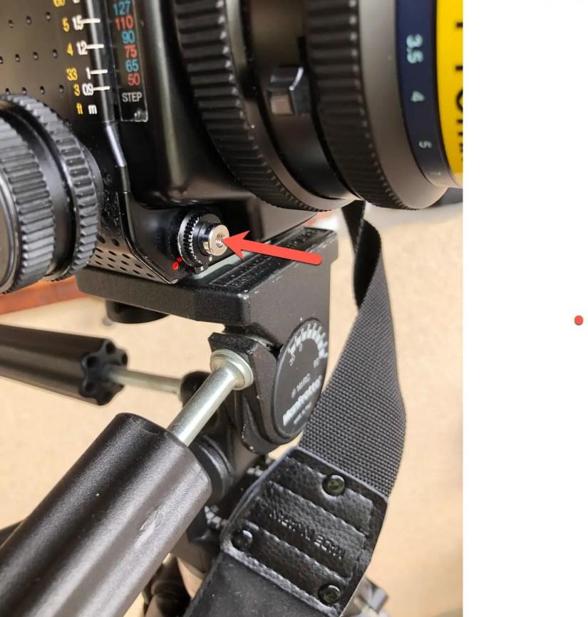 Mamiya RZ67 - full press the shutter button