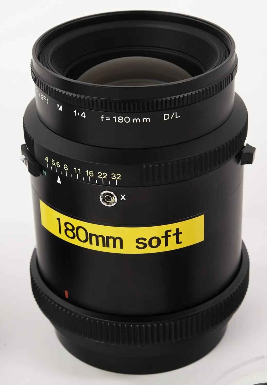 Mamiya Sekor M 180mm f/4 D/L Soft