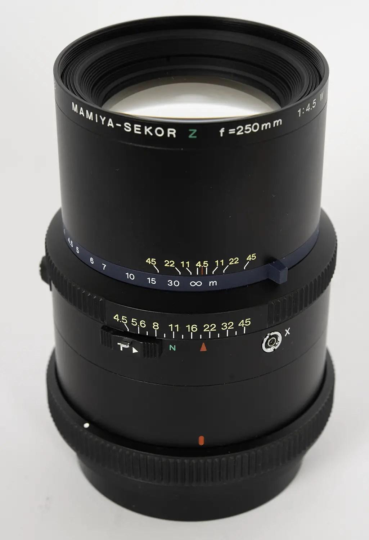 Mamiya Sekor Z 250mm f/4.5 W