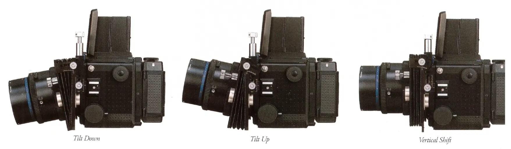 Mamiya RZ67 tilt-shift adapter and Mamiya Sekor M 180mm f/4.5L SB (Short Barrel) Tilt-Shift