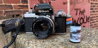My Nikon F2 Photomic, Nikkor-HC Auto 50mm f/2