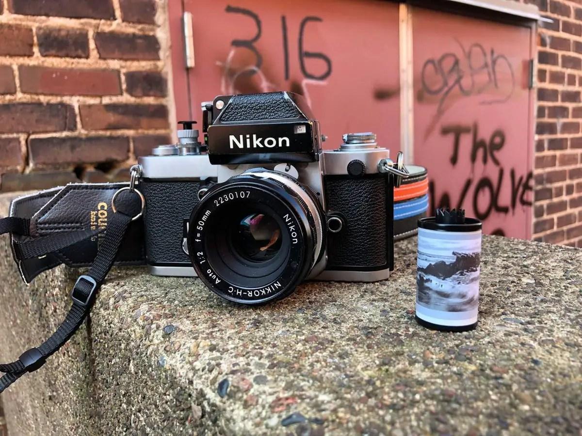 My Nikon F2 Photomic, Nikkor-HC Auto 50mm f/2