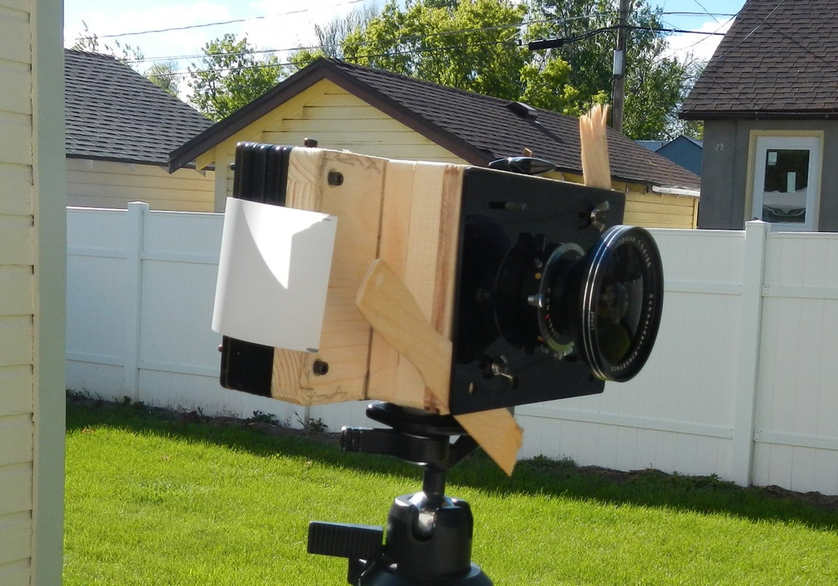 TwoFourths DIY 6x17 Camera Kit - Basic construction for testing