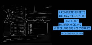 A complete guide to the Mamiya RZ67, part four: maintenance and miscellaneous accessories