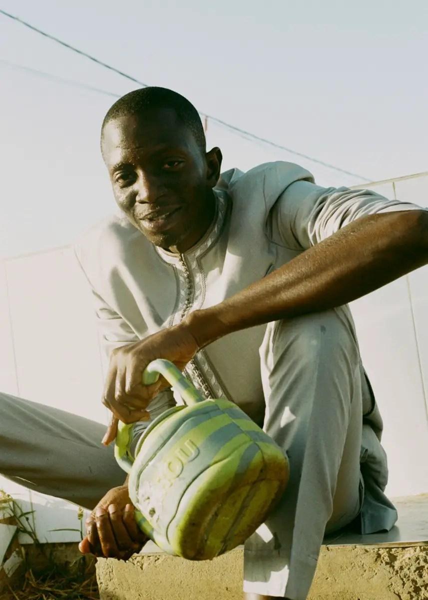 Ejatu - Papa preparing for Islamic prayer. Shot in Dakar, Senegal on Kodak Portra 160 film
